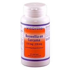 Boswellia en Curcuma