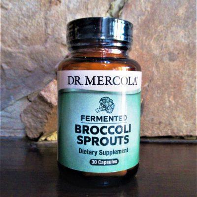de gefermenteerde broccoli sprouts van Dr. Mercola